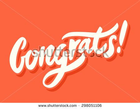 stock vector congrats congratulations card 298051106 jpg 450 352