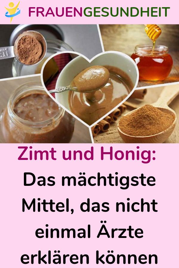 Zimt und Honig für die Ernährung