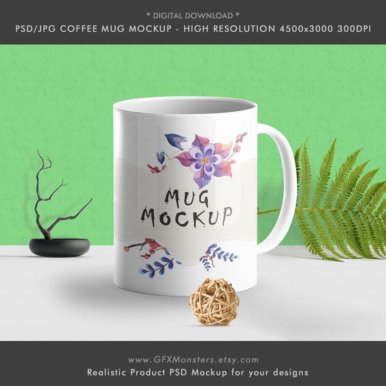 PSD/JPG Coffee Cup coffee mug mockup tasse mockup