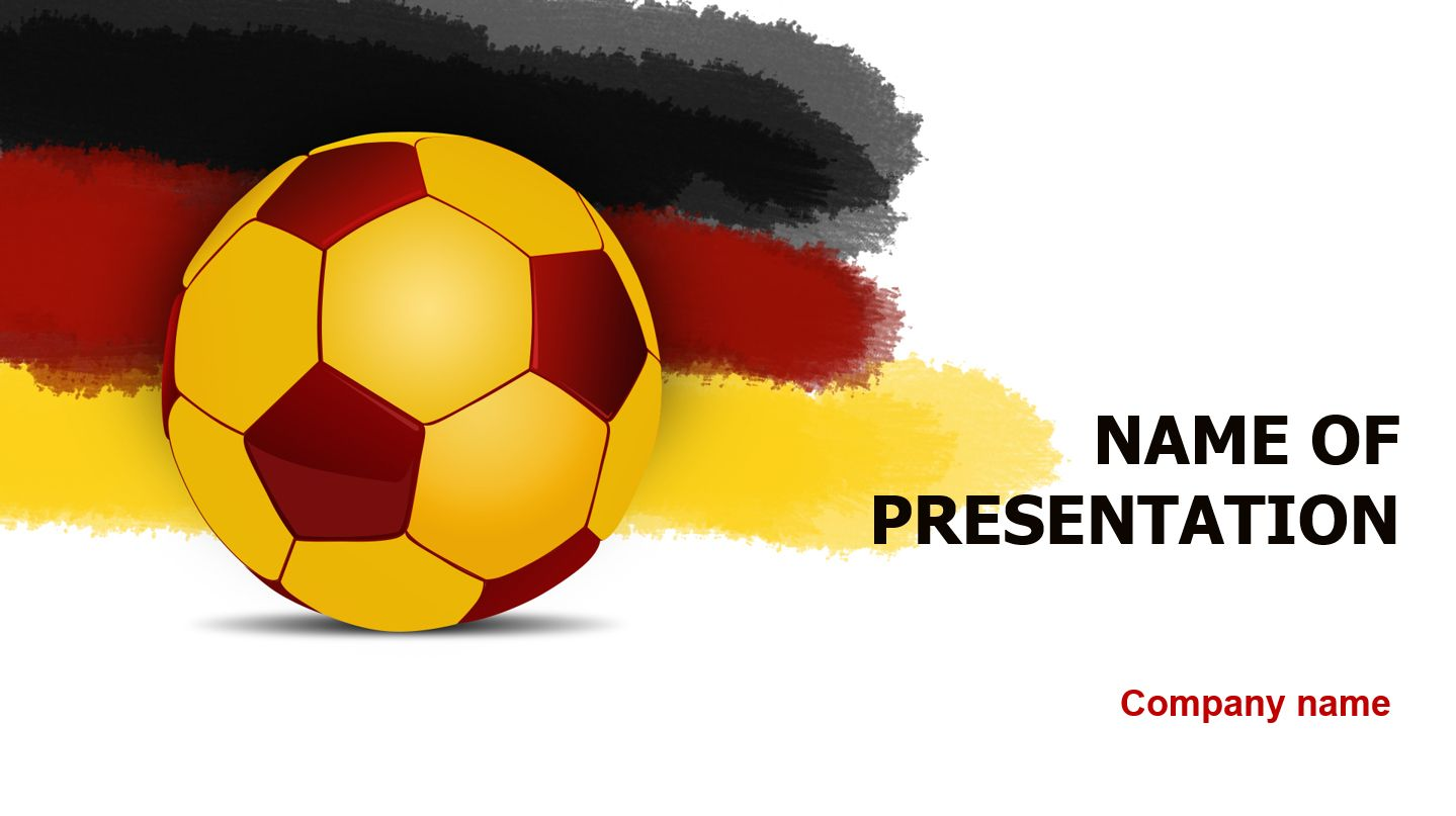 Germany soccer ball powerpoint theme this beautiful and creative germany soccer ball powerpoint theme this beautiful and creative powerpoint theme will be a great toneelgroepblik Gallery