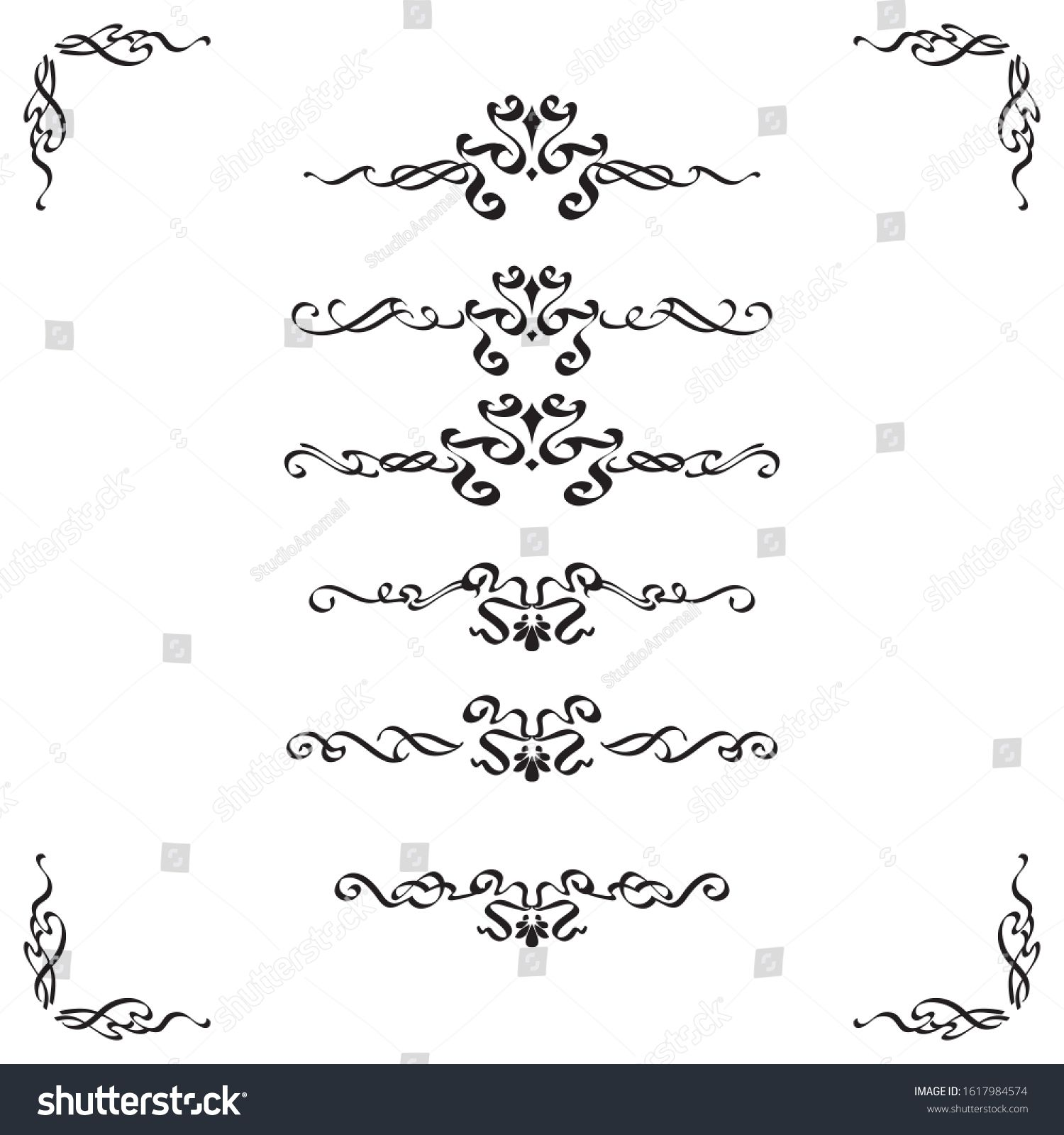 Classic Ornament Frame Vintage Border Art Stock Vector Royalty Free 1617984574 In 2020 Vintage Borders Ornament Frame Chinese Patterns