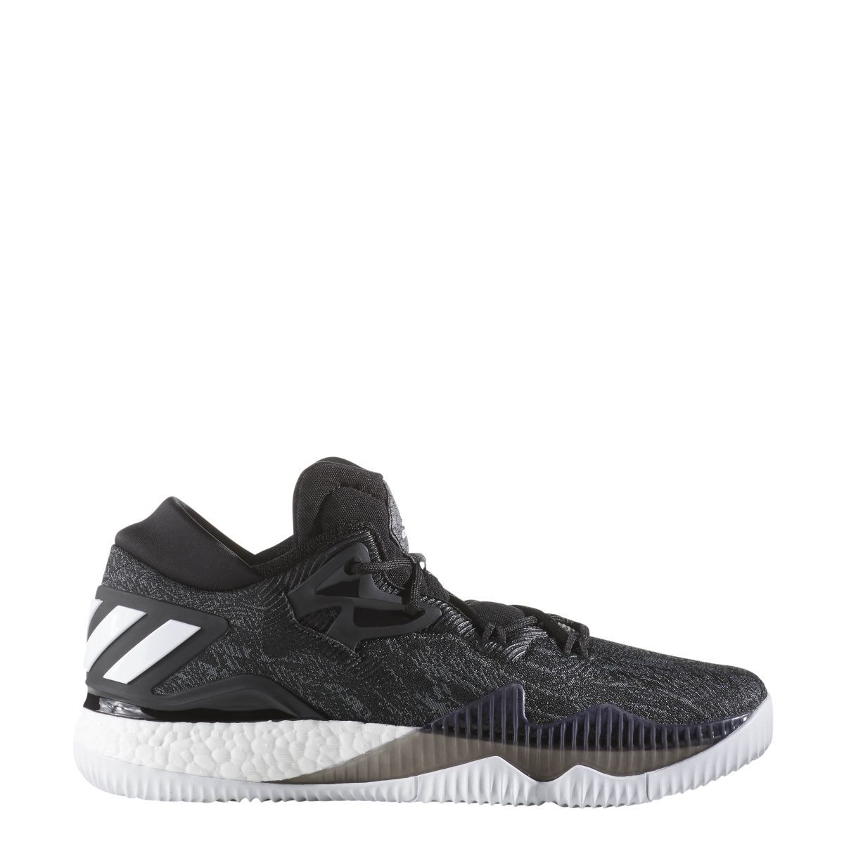 9f67707a970 Mens Adidas Crazylight Boost Low Black Basketball Sneakers Shoes B42722  Sz11-14