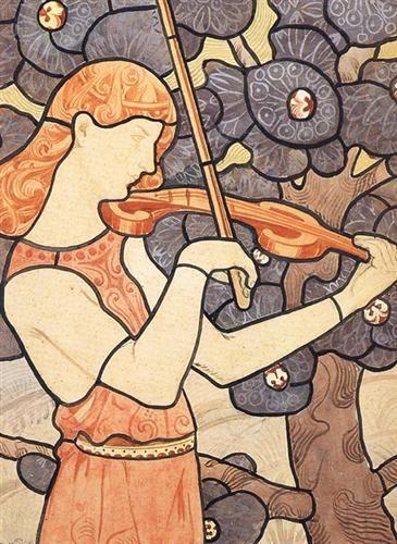 Eliseu Visconti, A Music 1898.