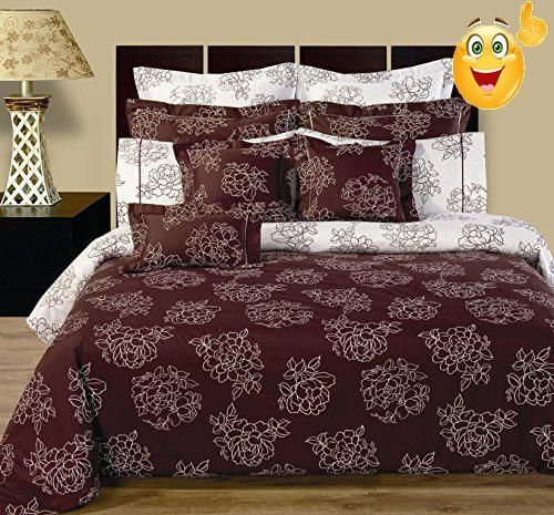 Best Cloverdale Queen 11pc Bedding Set Includes One Duvet Cover 90 X 92 Inches