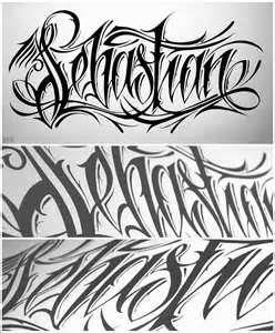Tattoo Calligraphy Font Generator