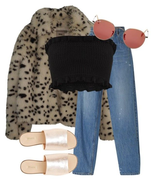 """Untitled #1321"" by nneomaswag on Polyvore featuring ASOS, Monse, Ray-Ban and L.E.N.Y."