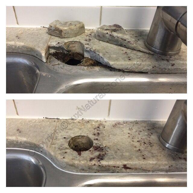 Epoxy Repair Kitchen Granite Countertop Don T Replace Your Broken
