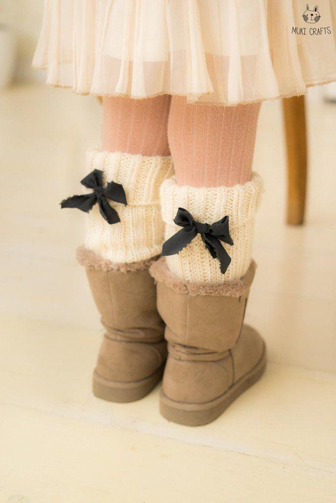 Photo of Elena leg warmers Knitting pattern by Muki Crafts