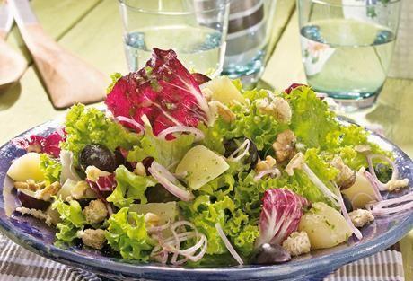 Gemischter Salat  Essen  Gemischter Salat  Essen