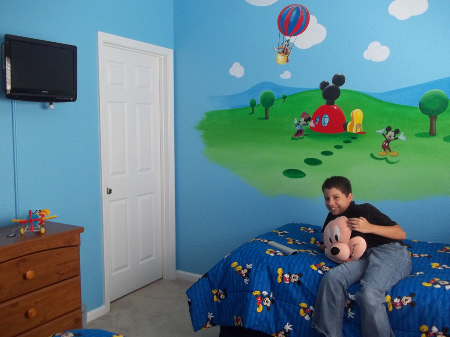 Beautiful mickey mouse clubhouse bedroom mickey mouse - Mickey mouse clubhouse bedroom decor ...