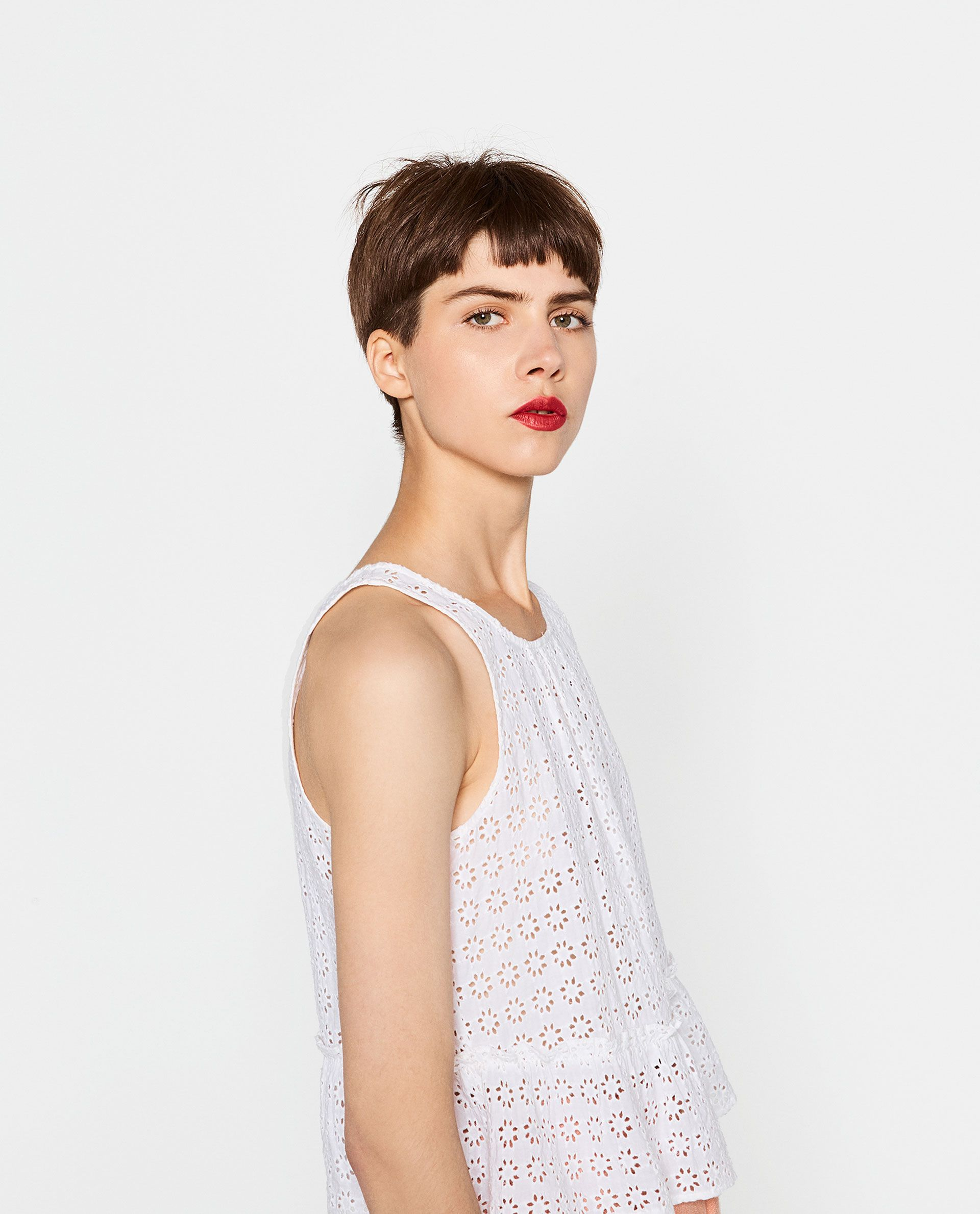 EMBROIDERED TOP-View All-TOPS-WOMAN | ZARA Canada