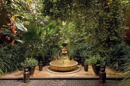 Serge Lutens Marrakech Riad Maroc Jardins Salle A Manger Cuisine