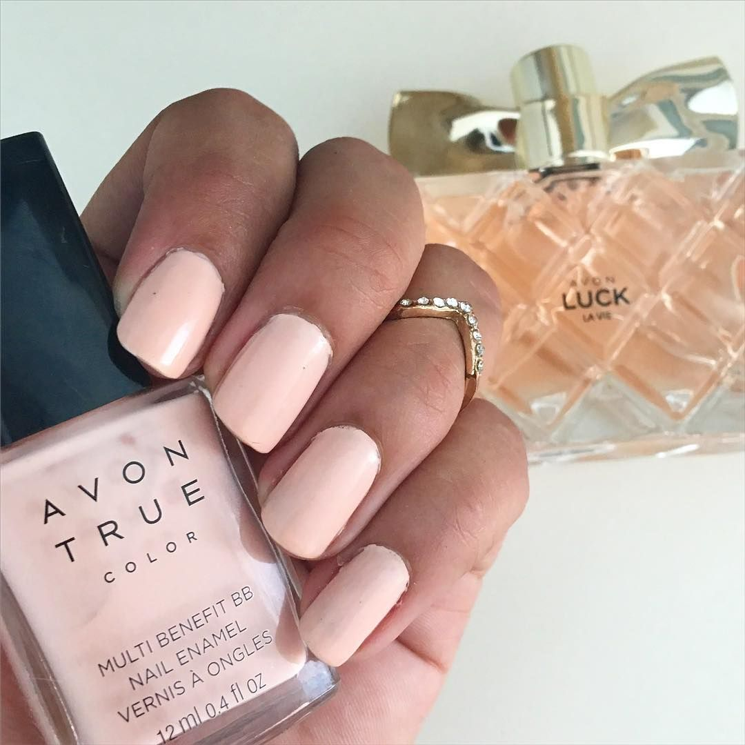 Avon Pink Nail Polish: Avon True Color Multi Benefit BB Nail Polish Perfect Pink