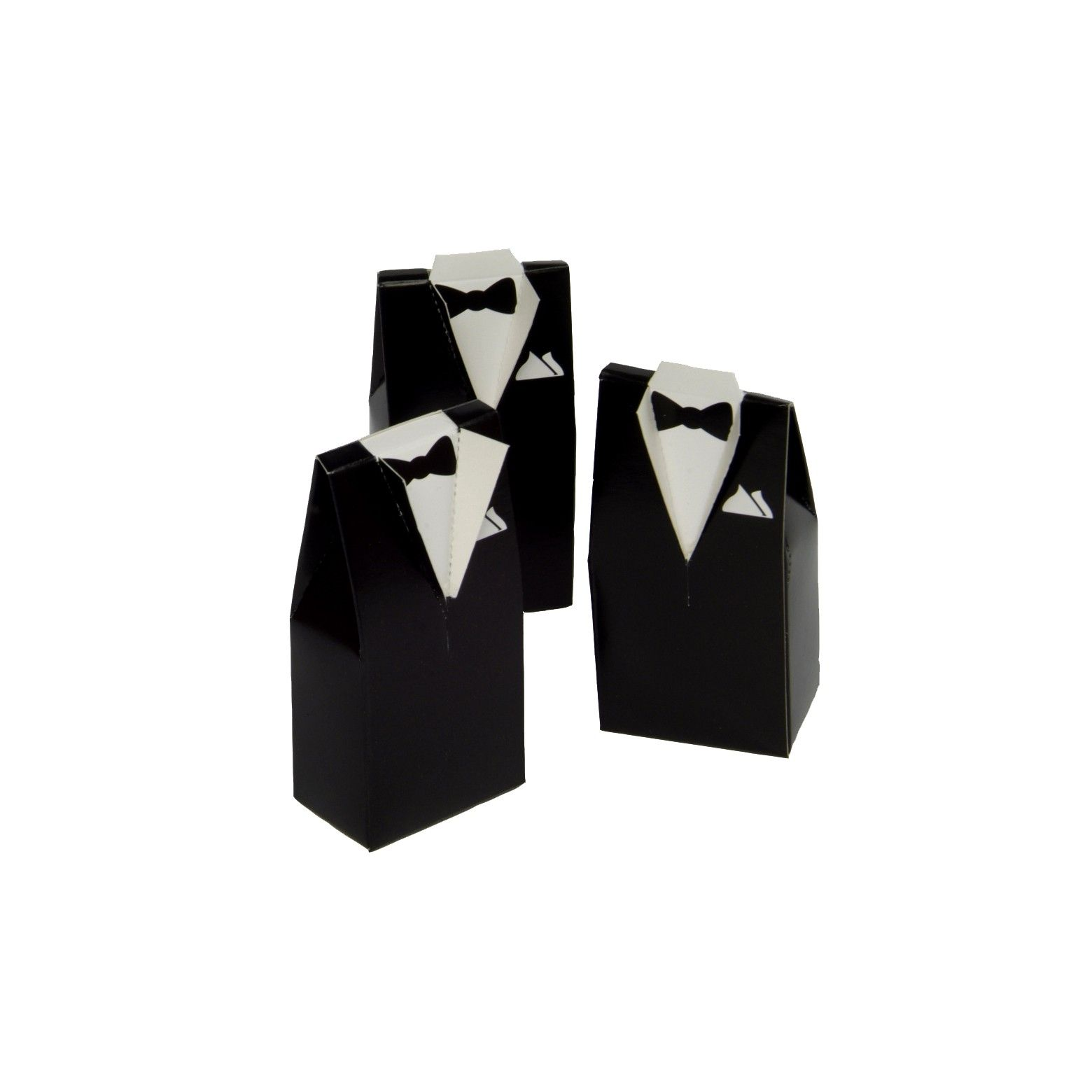 24ct Tuxedo Shaped Wedding Favor Boxes | Favors, Jordan almonds and ...