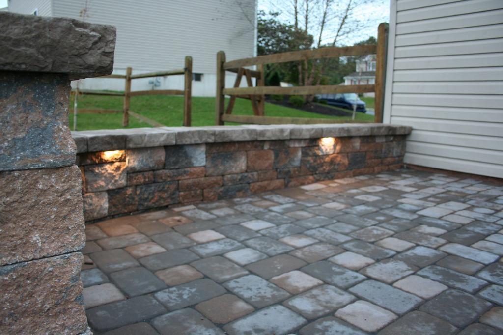 Lighted patio pavers lights douglassville paver patio by lights douglassville paver patio by willow gates landscaping pavers aloadofball Choice Image