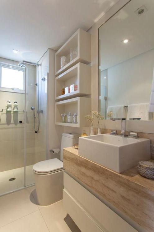 Ideas De Decoración De Baños Pequeños Alargados Y Estrechos Space Saving Bathroom Small Bathroom Small Bathroom Storage