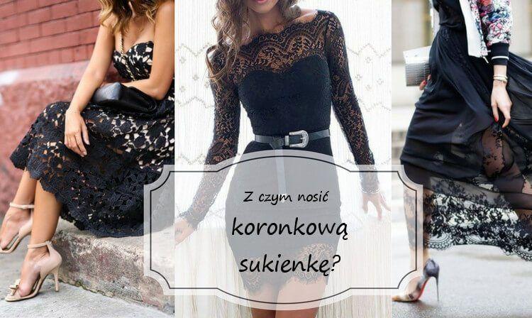 Z Czym Nosic Czarna Koronkowa Sukienke Buty Ubrania I Dodatki Formal Dresses Long Formal Dresses Fashion