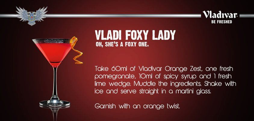 She is cool, she is sexy and most of all, she is FOXY! - Presenting Vladi Foxy Lady!