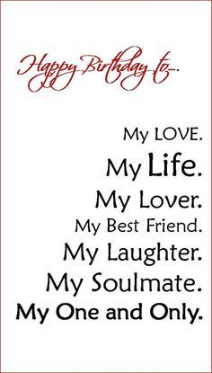 Happybirthday Quotes Say It W A Quote Love Birthday Cards