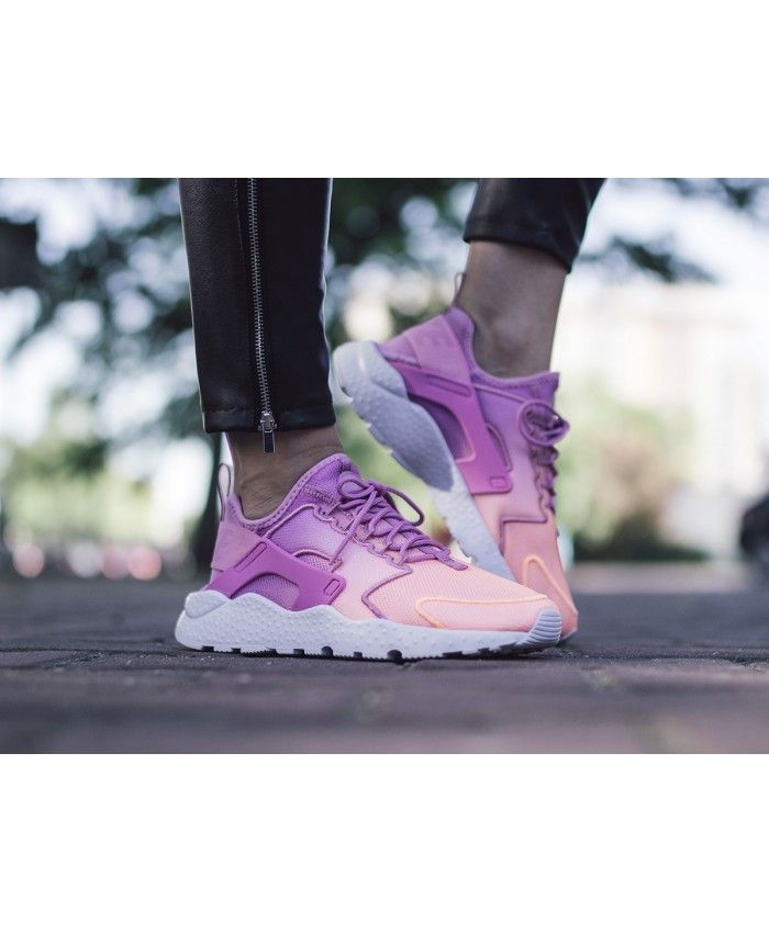 new style bfeee f98a2 Nike Air Huarache Ultra Breathe Womens Trainers In Pink ...