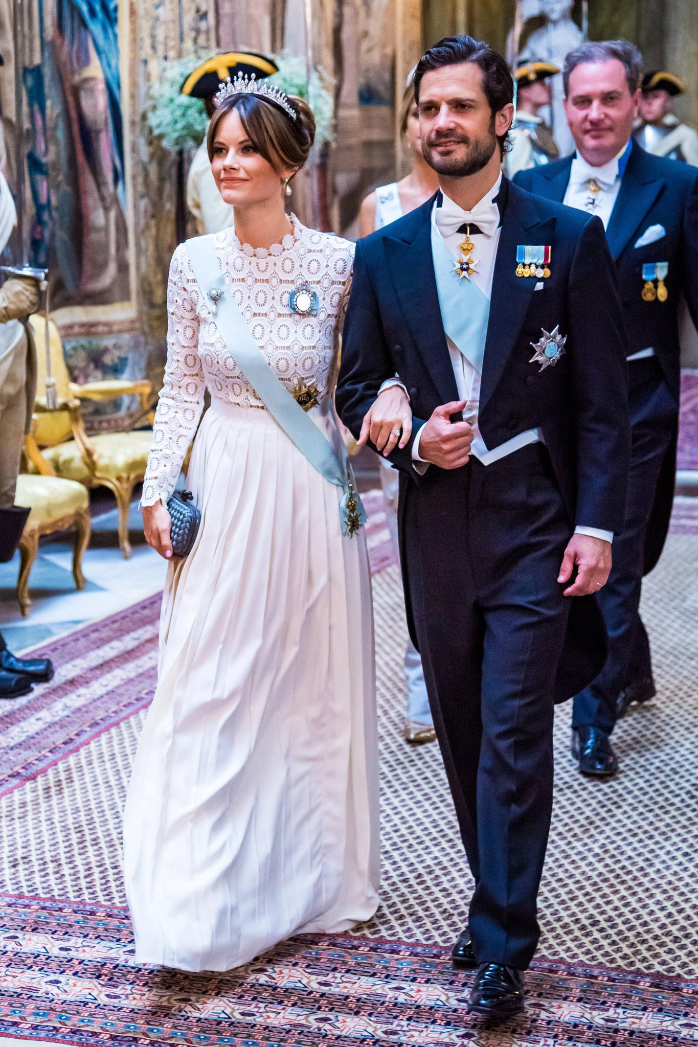 Prince Carl Philip And Princess Sofia Attend State Banquet For The President Of South Korea Royal Portraits Gallery Princess Sofia Of Sweden Princess Sofia Prince Carl Philip [ 2048 x 1365 Pixel ]
