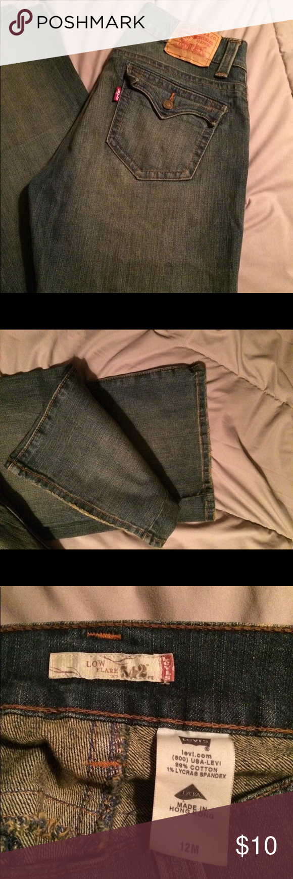 Size 12 Levi's Size 12 Levi's jeans. Good used condition. Levi's Jeans Flare & Wide Leg