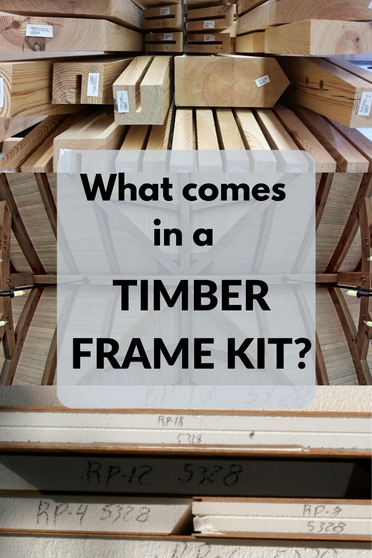 What Comes In A Timber Frame Kit Timber Frame Hq In 2020 Timber Frame Barn Timber Frame Timber Frame Building