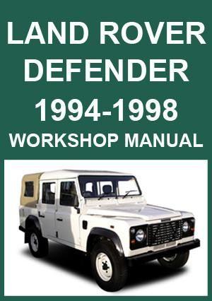 land rover defender manual