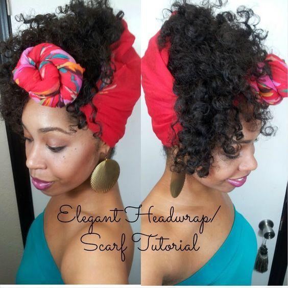 36 Elegant Headwrap Scarf Tutorial