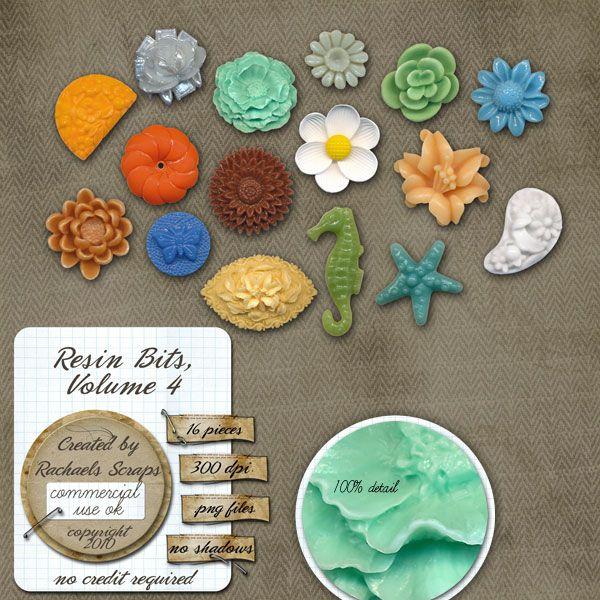 Resin Bits, Volume 4 $5.19
