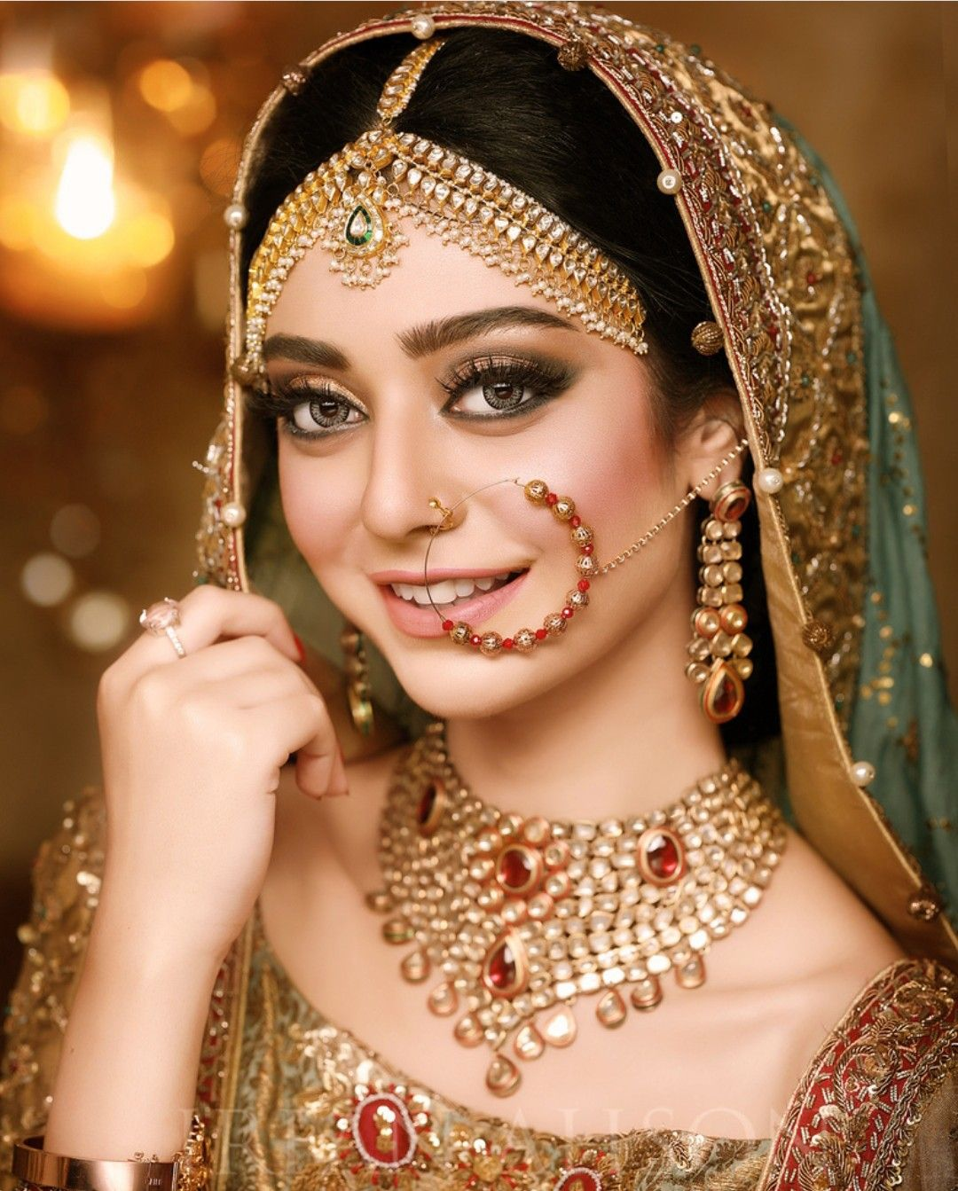 Pin by munazza j on wedding diaries | Indian bride makeup, Indian bridal makeup, Indian muslim bride