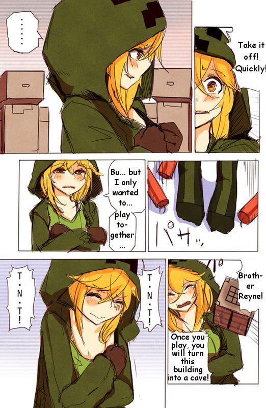 Minecraft hentai manga