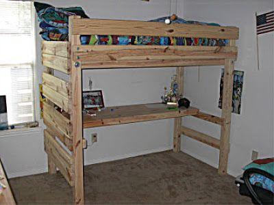 Pallet Loft Bed Pallet Loft Bed Loft Bed Plans Diy Loft Bed