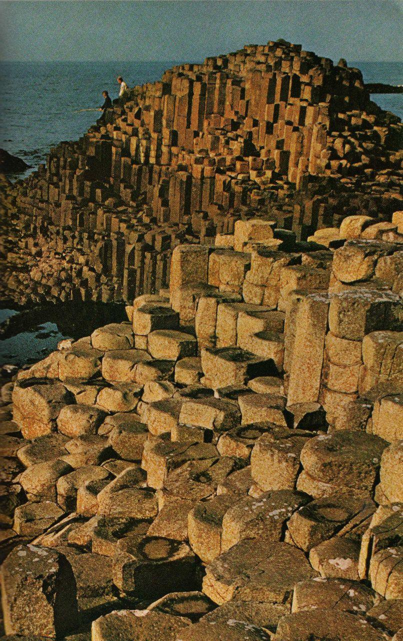 The Giants Causeway, Antrim Coast, Northern Ireland.