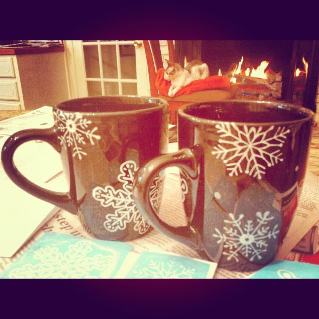 Decorate Your Own Christmas Mugs Dollar Store Mugs Stencils And