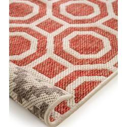 Photo of benuta Wendeteppich Terrazzo Beige/Rot 140×200 cm – Moderner Teppich für Wohnzimmer benuta