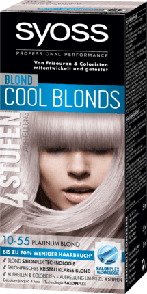 Syoss haarfarbe cool blond