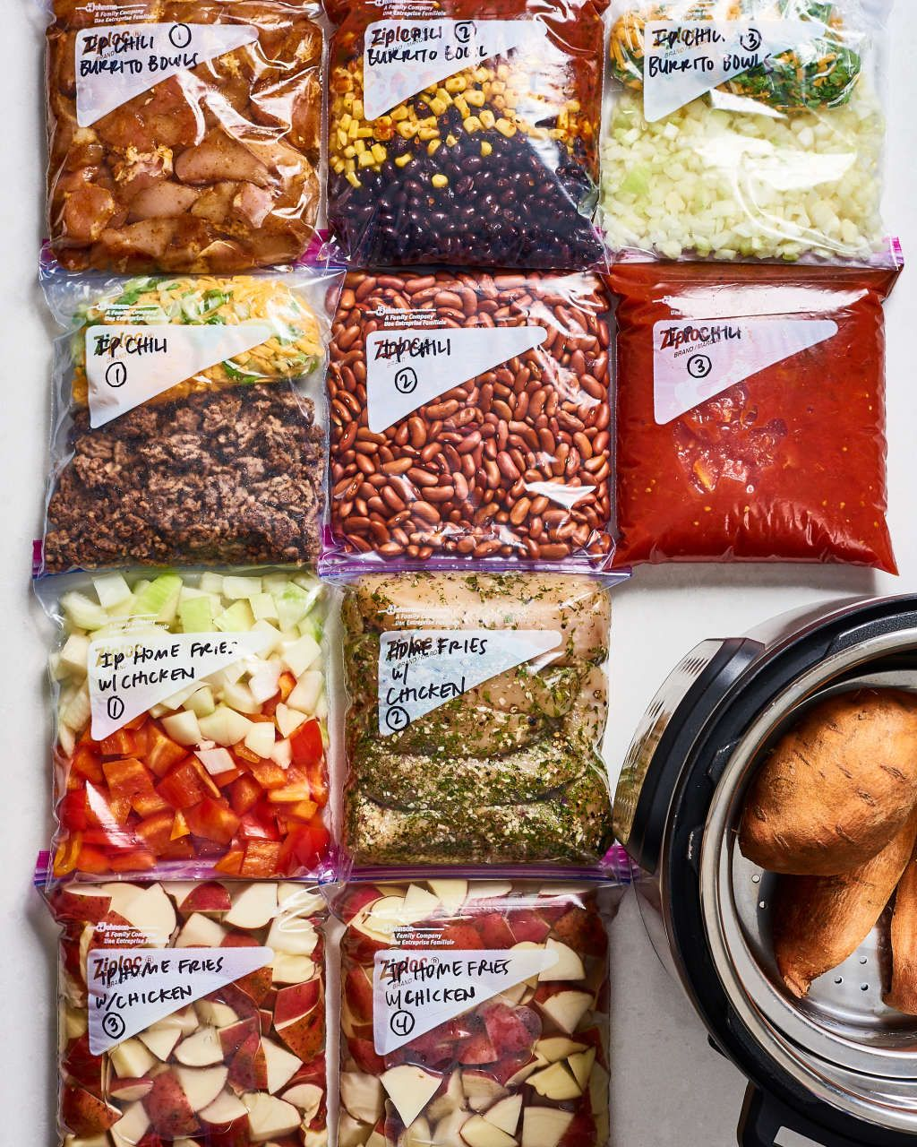 Meal Prep Plan: A Week of Easy Instant Pot Meals