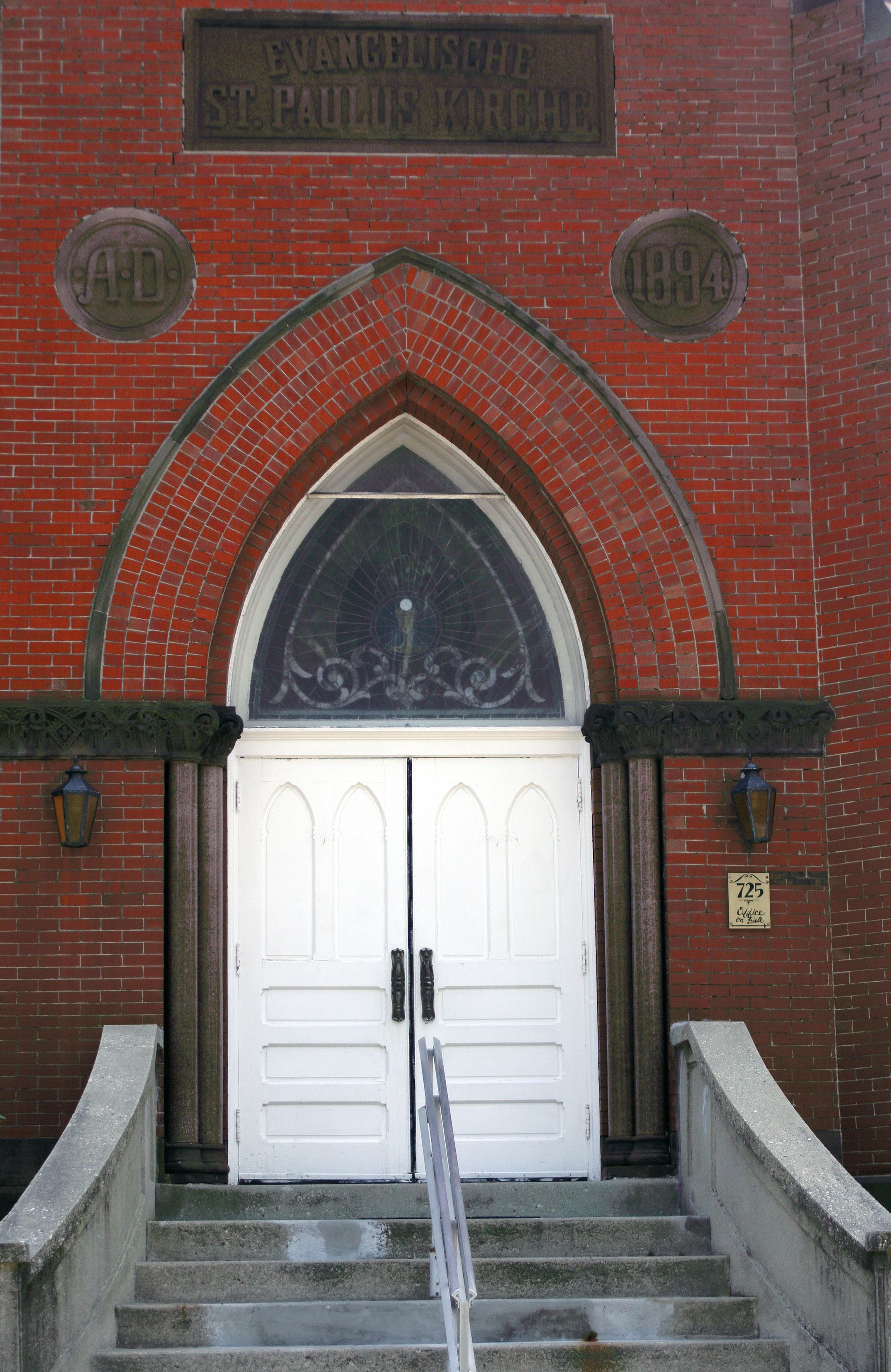 Another Church Door In Hamilton Ohio My Home Door Entryway Church