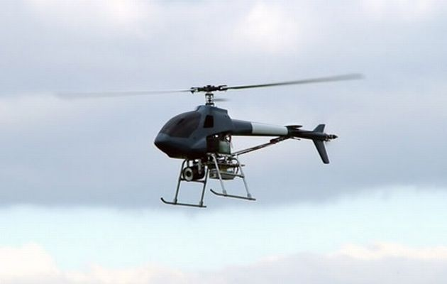 Helicopter Drones Target Graffiti Vandals