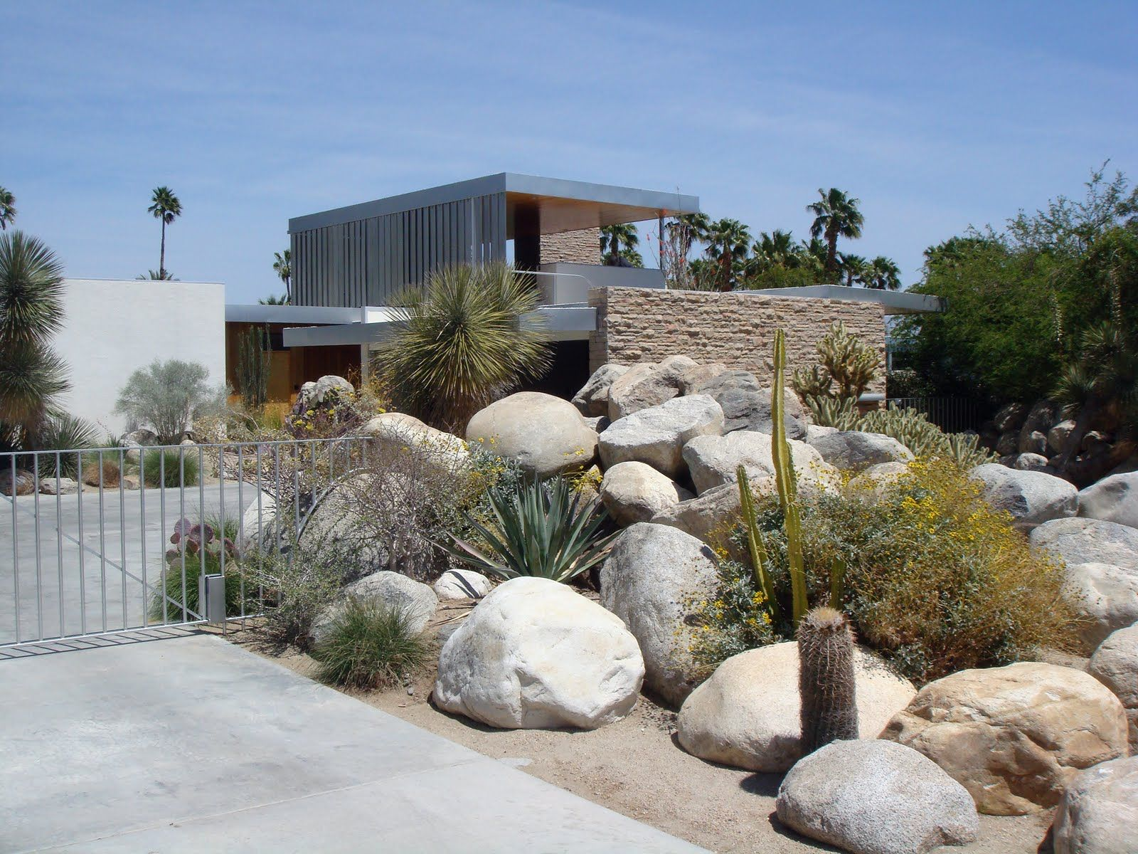 Image result for modern desert garden design YardLandscaping