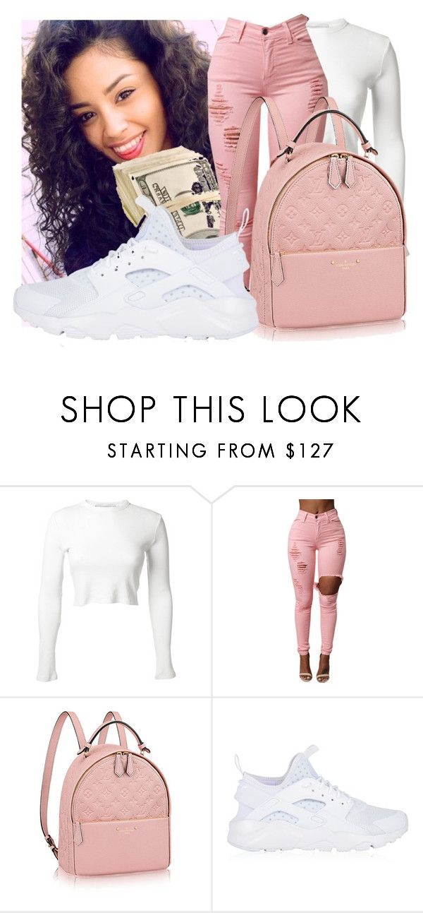 28b4a24be90 by qveentricee ❤ liked on Polyvore featuring Rosetta Getty and NIKE ...