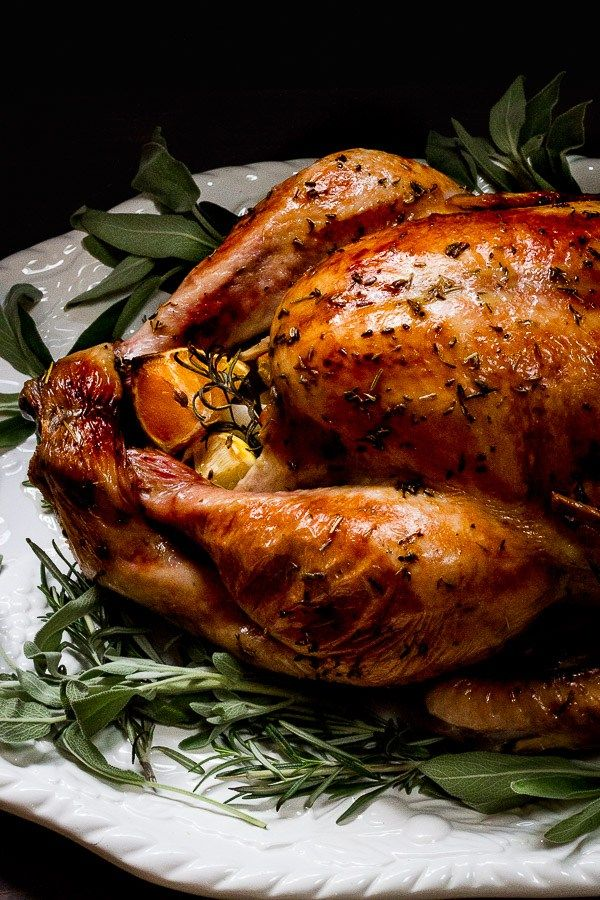 Photo of Butter Roasted Turkey with Herbes de Provence + Citrus – Chasing The Seasons