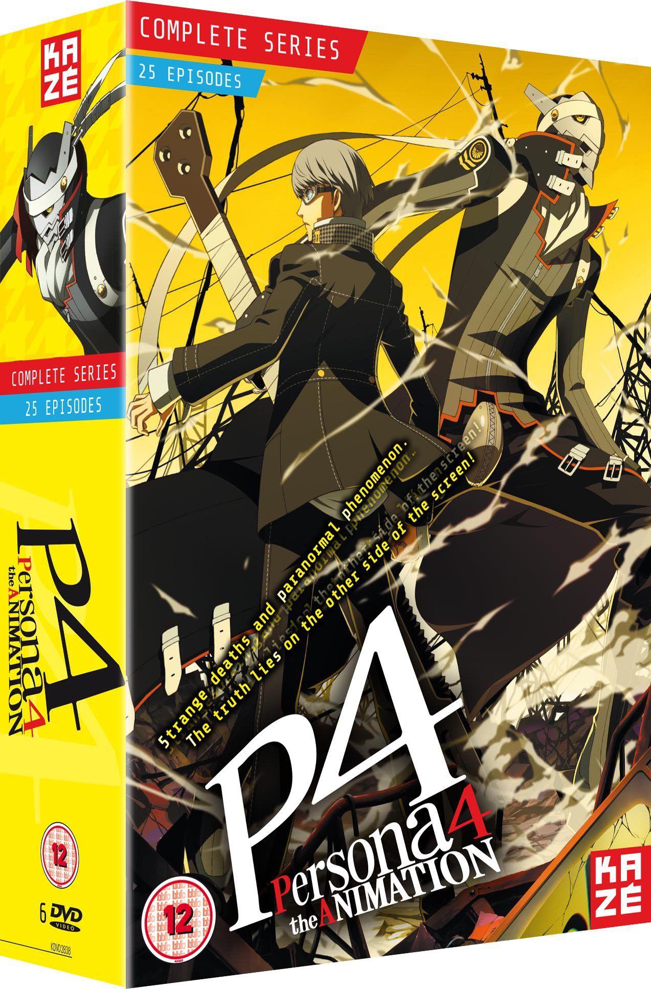 Persona 4 The Animation Complete Season Box Set Episodes