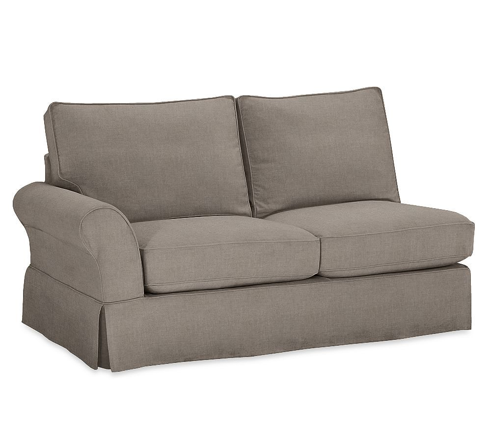 Build Your Own Pb Comfort Roll Arm Sectional Component Slipcovers Sectional Sofa Slipcovers Sectional Slipcover Loveseat Slipcovers