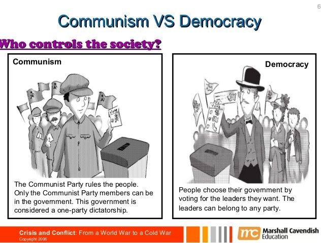 a comparison of the communism in cuba and democracy in america Understanding the key terms and the fundamental differences between the two superpowers in essential to understanding why this conflict occurred the instructor will give a brief lecture on the ideological origins of the cold war by introducing the form of government for the us (democracy) and for the soviet union (communism.