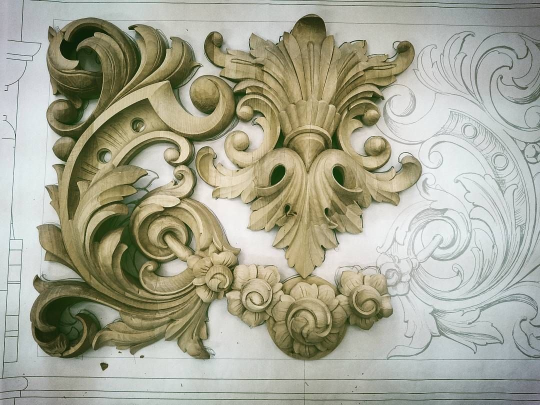 Pin by Navid Sadat on art | Ornamentos, Entalhe em madeira ...