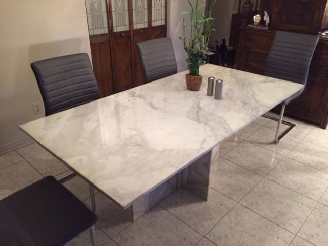 1200 Marble Table Kijiji De Marbre