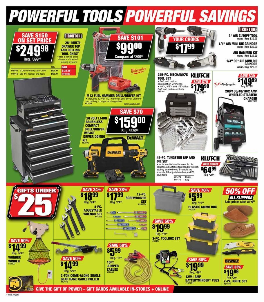 Northern Tool Black Friday 2017 Ads And Deals Shop At The One Of The Leading Retailers In The Tool And Equipment Industry Black Friday Mechanics Tool Set Tools