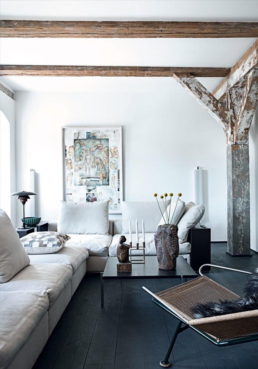 Moderne flexformsofa i dagligstuen rita deco pinterest interiors